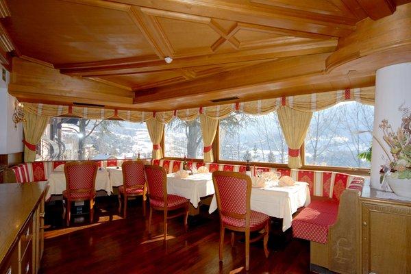 Il ristorante Cavalese Parkhotel Villa Trunka Lunka