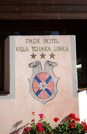 Foto di alcuni dettagli Parkhotel Villa Trunka Lunka