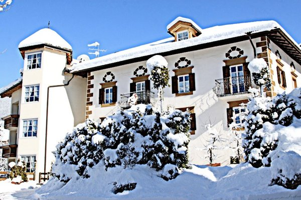 Foto esterno in inverno Laurino