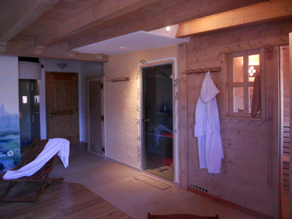 Photo of the wellness area B&B (Garni)-Hotel Salvanel