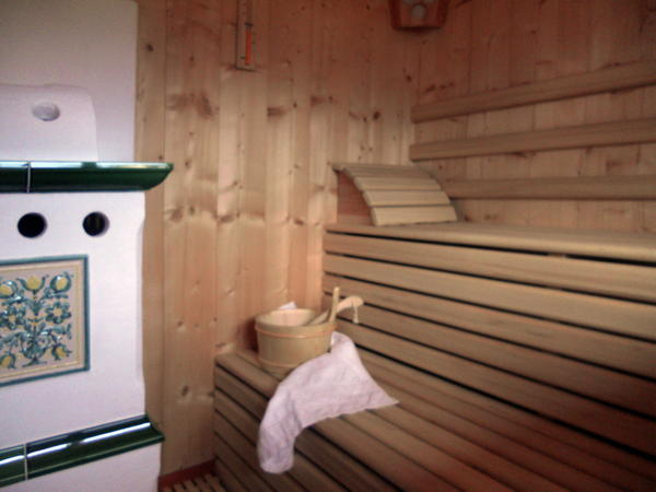Photo of the sauna Cavalese