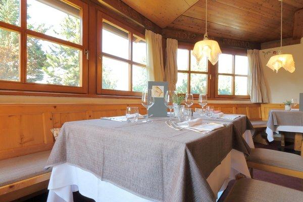 Das Restaurant Cavalese Bellacosta Parkhotel