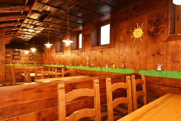 Il ristorante Cavalese Bellacosta Parkhotel