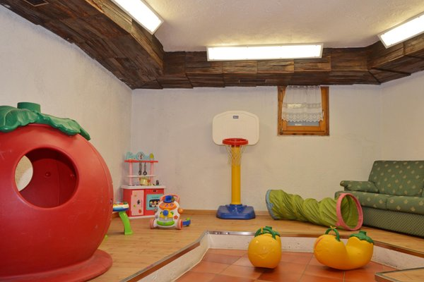 The children's play room Bellacosta Parkhotel
