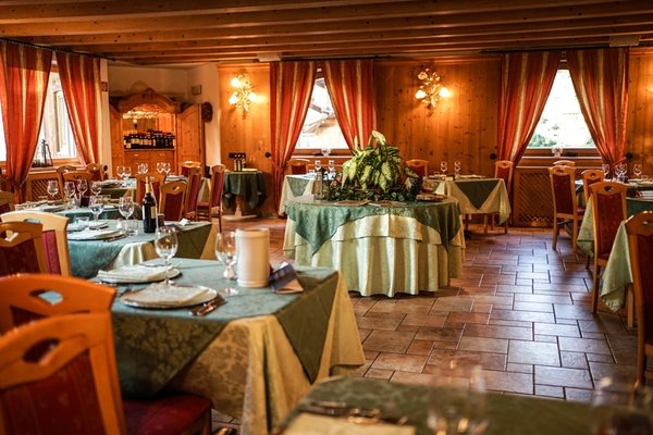 Il ristorante Cavalese Grünwald
