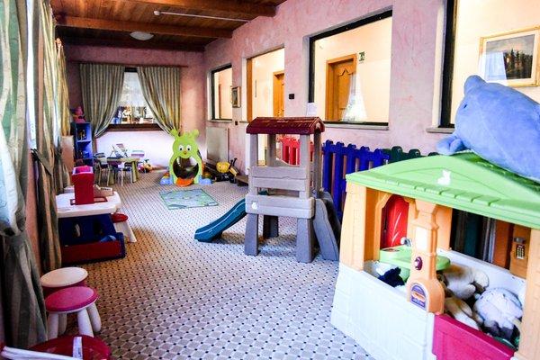 La sala giochi Hotel Grünwald