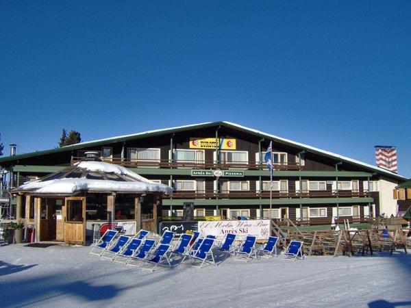 Foto invernale di presentazione Rifugio-Hotel Eurotel Cermis