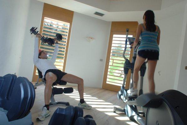 Photo of the fitness area Hotel Castelir Suite Hotel