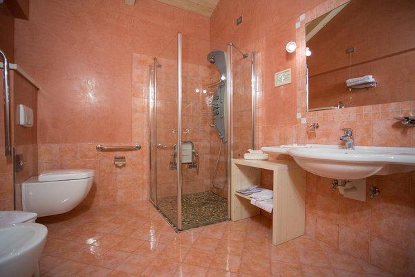 Photo of the bathroom Hotel Castelir Suite Hotel