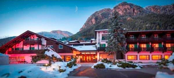 Winter presentation photo Hotel Regina delle Dolomiti