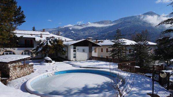 Foto Außenansicht im Winter Rio Bianco