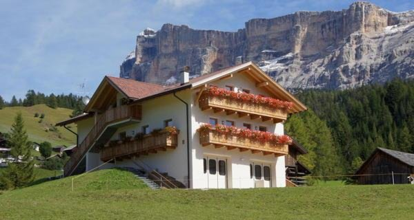 Foto estiva di presentazione Appartamenti Maso Silvestro
