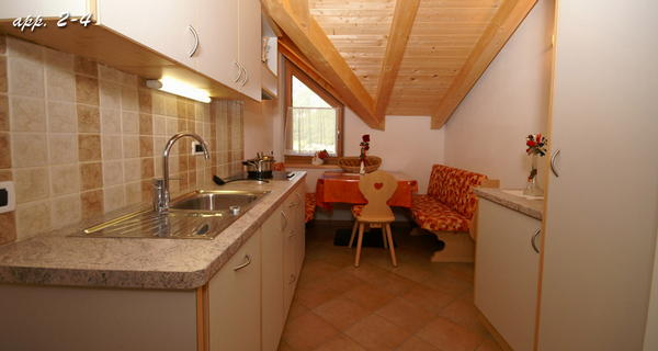 Foto della cucina Maso Silvestro
