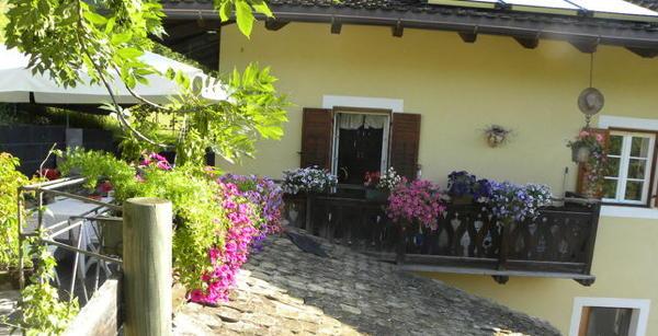 Foto esterno in estate La casa delle bambole