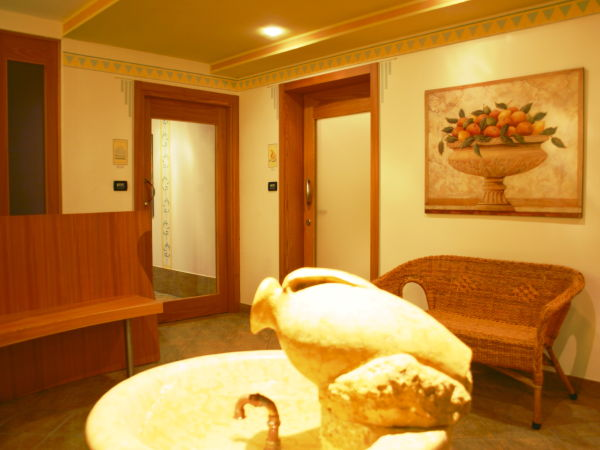 Photo of the wellness area Residence Kristall