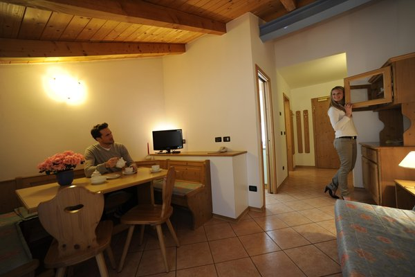 The living area Kristall - Residence 3 stars