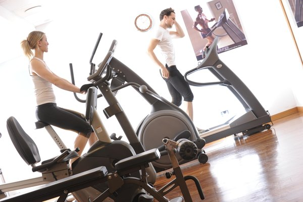 Photo of the fitness area Residence Kristall