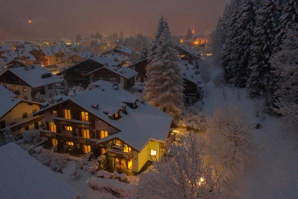 Foto esterno in inverno Lagorai