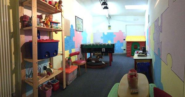 The children's play room Hotel Liz