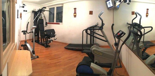 Foto della zona fitness Hotel Liz