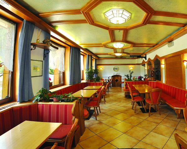 The restaurant Predazzo Montanara