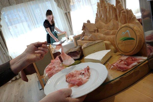 The restaurant Predazzo Cimon Dolomites