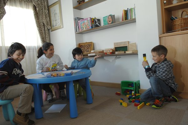 The children's play room Hotel Cimon Dolomites