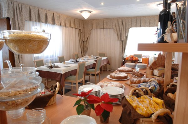 The breakfast Hotel Cimon Dolomites
