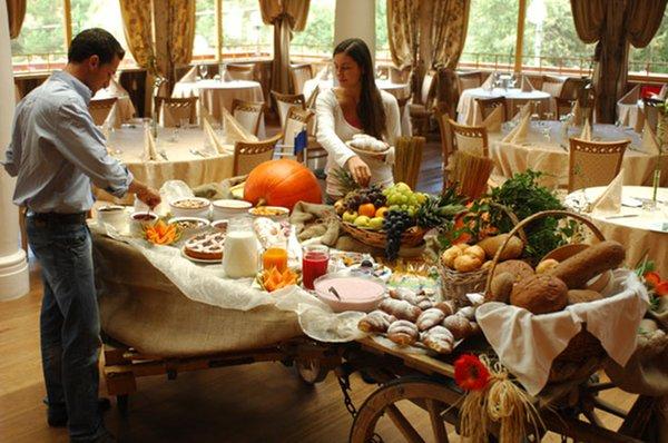 La colazione Hotel Shandranj