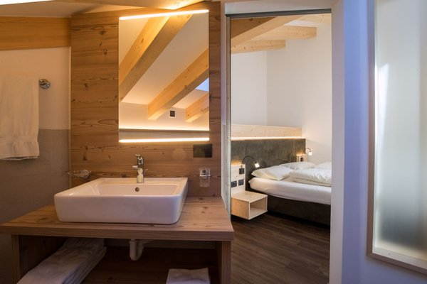 Photo of the bathroom Hotel Al Cervo - Dolomites Experience