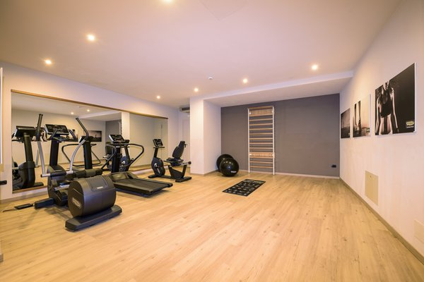 Photo of the fitness area Apartments in hotel Villa di Bosco