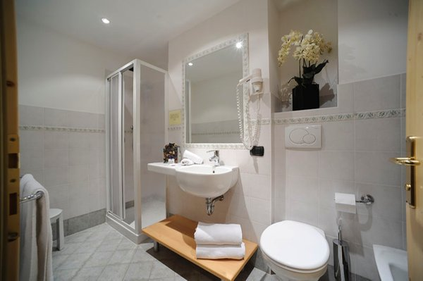 Photo of the bathroom Apartments in hotel Villa di Bosco
