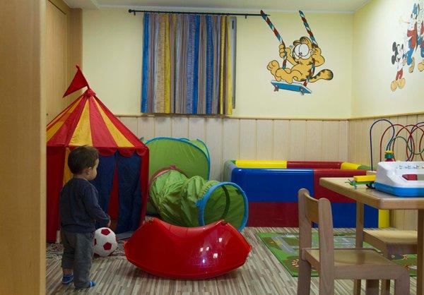 La sala giochi Hotel Berghotel Miramonti