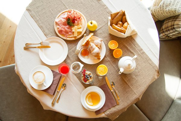 The breakfast Hotel Berghotel Miramonti