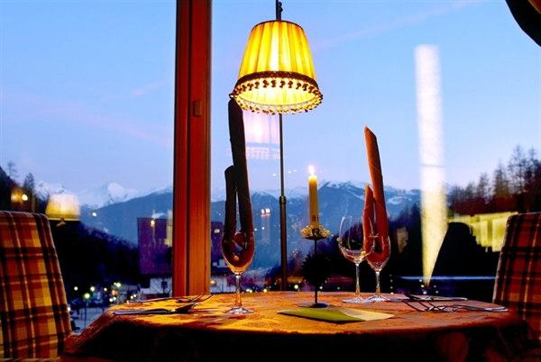Il ristorante Tesero Berghotel Miramonti