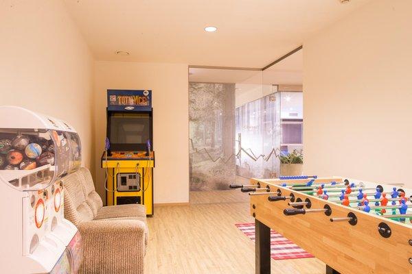 La sala giochi Hotel Erica