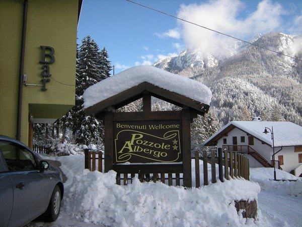 Photo exteriors in winter Pozzole