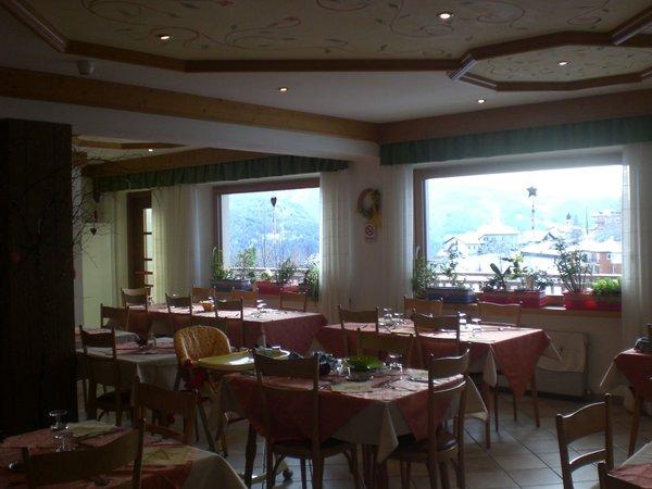 Il ristorante Varena Serenetta