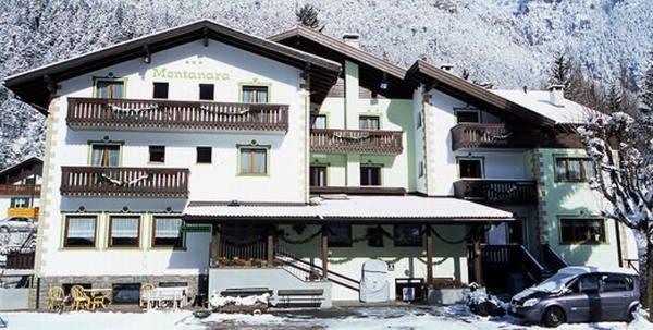 Foto invernale di presentazione Montanara - Hotel 3 stelle sup.