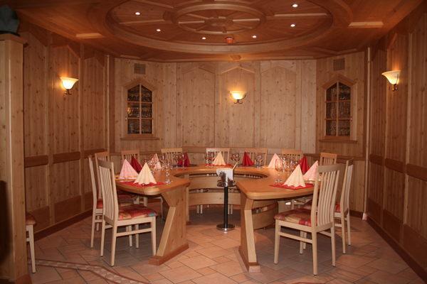 Il ristorante Ziano di Fiemme Pont'Hotel