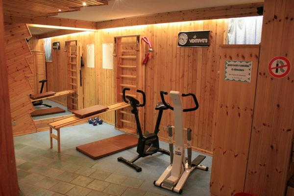 Foto della zona fitness Hotel Pont'Hotel