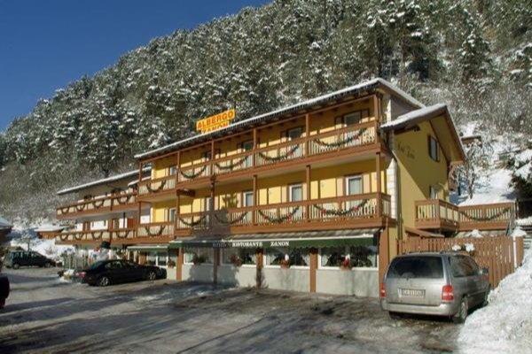 Foto invernale di presentazione Zanon - Hotel 3 stelle