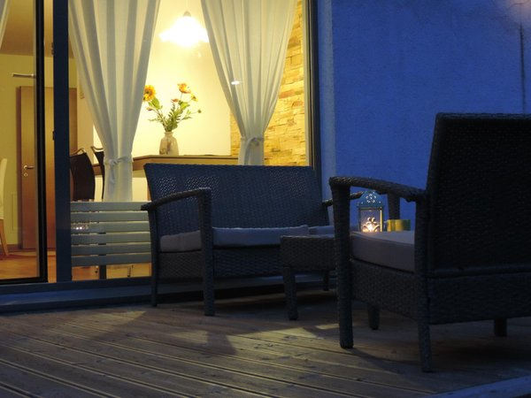 Foto del balcone Casa Vanzetta