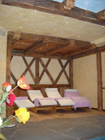 Photo of the wellness area Farmhouse B&B Maso Pertica