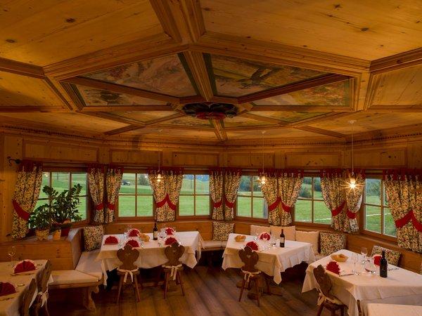 Il ristorante Castello di Fiemme Maso Pertica