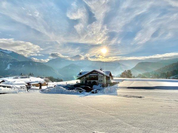 Photo exteriors in winter Maso Pertica