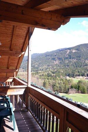 Foto del balcone Maso Val Averta