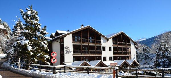 Foto invernale di presentazione Aparthotel Des Alpes