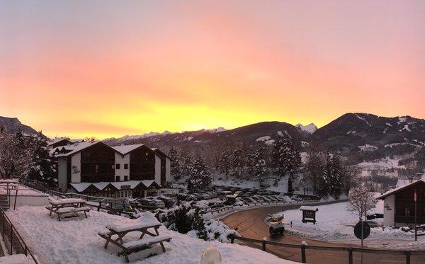 Foto esterno in inverno Des Alpes