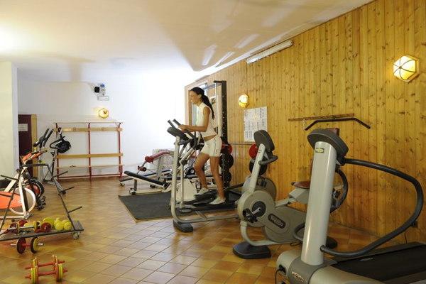 Foto della zona fitness Aparthotel Des Alpes